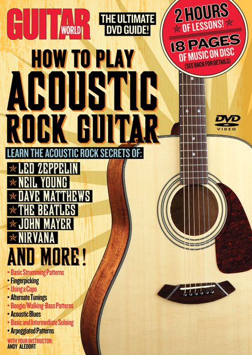Guitar World How To Play Acoustic Rock Guitar TUTORIAL